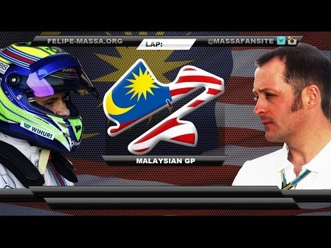 Felipe Massa and Bottas team radio, Malaysia 2014