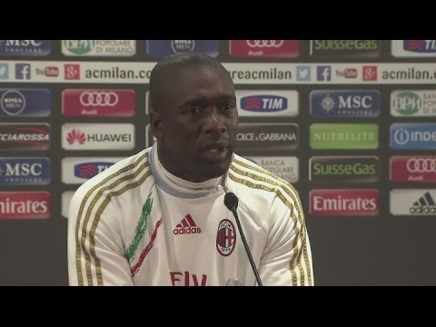Seedorf pleased to have the backing of Berlusconi