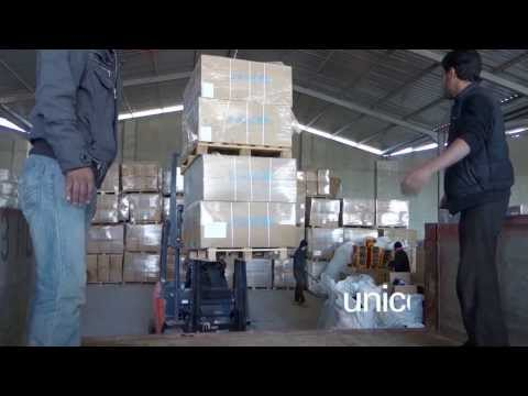 UNICEF aid airlifted from Iraq to Syria