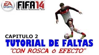 Fifa 2014. Tutorial de faltas 2