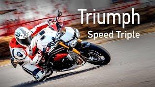Тест мотоцикла Triumph Speed Triple 1050R. Тесты АвтоРЕВЮ.
