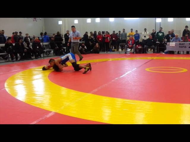 2014 Cadet National Championships: 46 kg Final Kieran Akhtar vs. Navdeep Toor