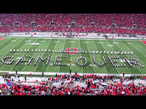 HD 1080P OSUMB Video Game Half Time Show PLUS Script Ohio TBDBITL Ohio State vs. Nebraska 10 6 2012