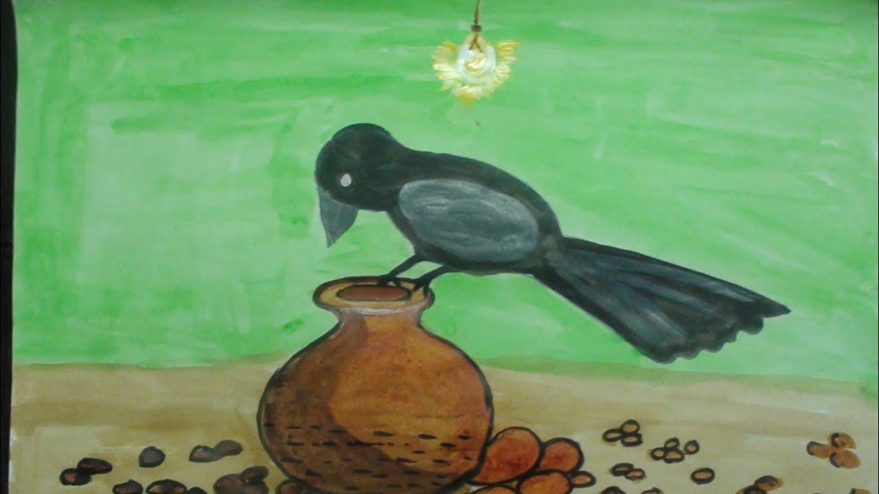 Crow Drawing Kids