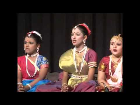 classical vocal Sarawati vandana by SATRANG ACADEMY STUDENTS