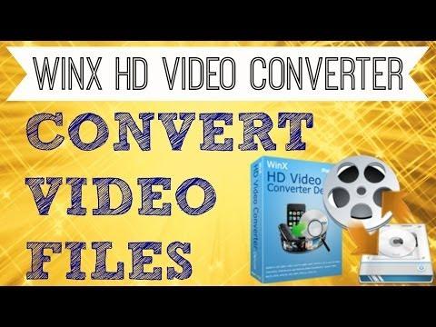 How to Convert MP4 to MP3, AVI, FLV, MOV, WMV - WinX HD Video Converter