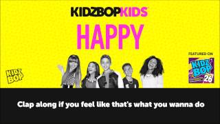 KIDZ BOP Kids Happy With Lyrics (KIDZ BOP 26)