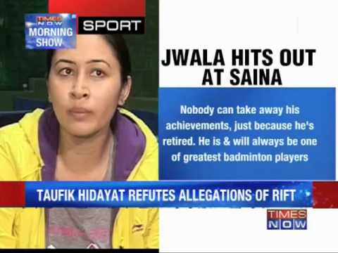 Jwala-Saina rift out in the open