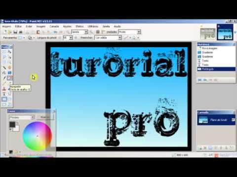 como usar o paint net v3.5.11