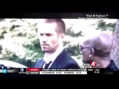 Paul Walker Initially Survived Crash