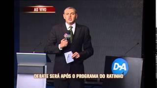 Candidatos ao governo de Minas debatem propostas hoje na TV Alterosa
