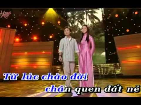 KARAOKE HINH BONG QUE NHA HatVoi MyHang