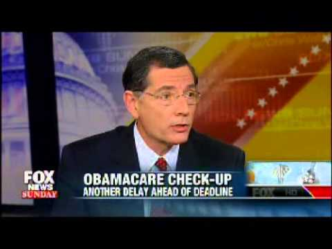 Sen. John Barrasso & Sen. Angus King on FOX News Sunday - 3/30/2014