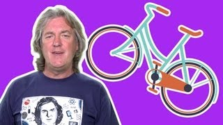 Why is a bicycle easier to balance at speed? - James May's Q&A (Ep 32) - Head Squeeze