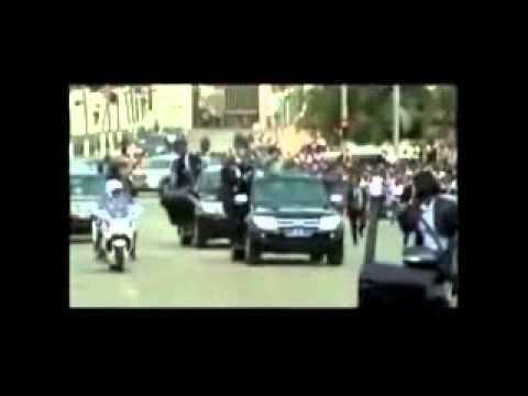 Yamoussoukro, Région du Bélier: Accueil triomphale du Président Alassane OUATTARA