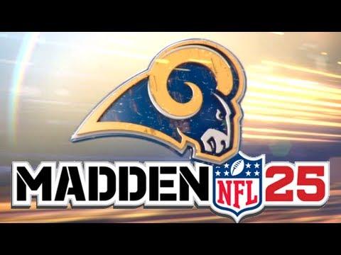 madden 25 rams franchise update finally ready draft class fix