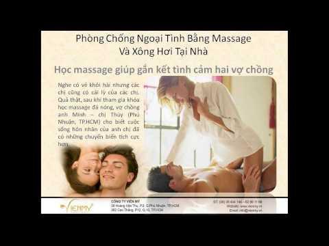 Phòng chống ngoại tình bằng massage và xông hơi tại nhà
