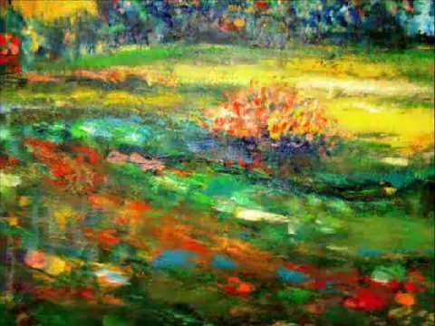 How To Paint Flowers With Acrylics Impressionist Style