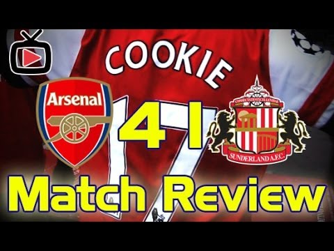 Arsenal 4 Sunderland 1 - The Match Review - ArsenalFanTV.com