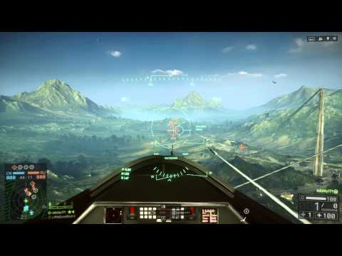 how to get kills with jet in bf4