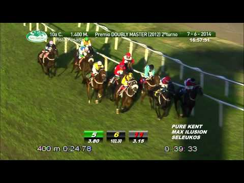 Vidéo de la course PMU PREMIO DOUBLY MASTER (2 TURNO)