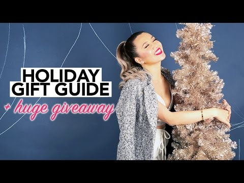 Holiday Gift Guide + HUGE GIVEAWAY! || Sylvia Jade