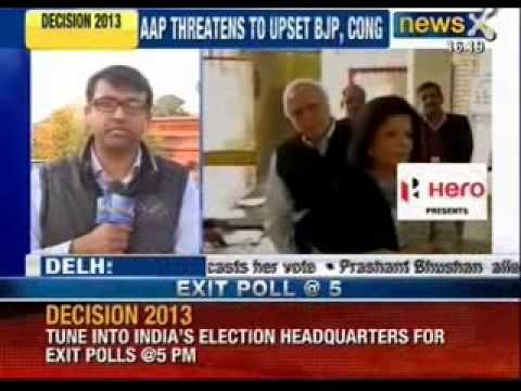 Delhi elections 2013 : How AAP has changed the polling game - NewsX