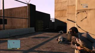 GTA 5 How To Sneak Into The Military Base Tutorial