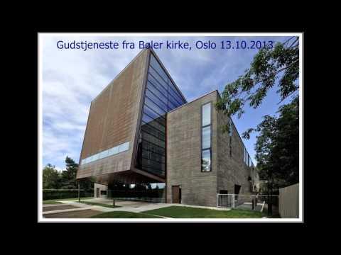 NRK Radio Gudstjeneste i Bøler kirke i Oslo 13 10 2013