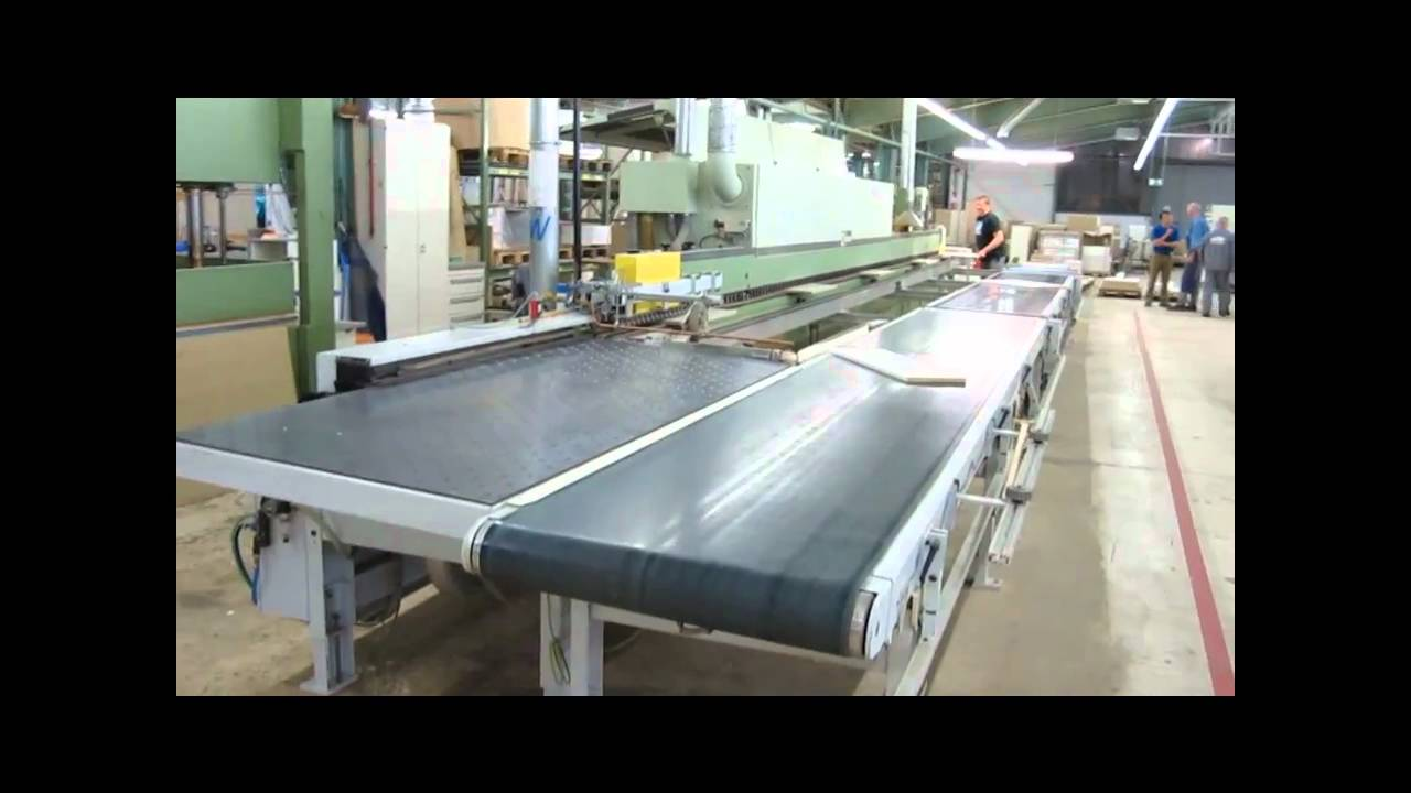 LIGMATECH Edge Banding Machine - YouTube