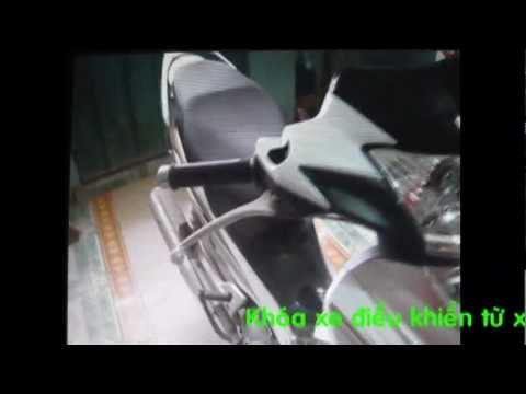 Cách lắp khóa xe trộm khóc cho xe HONDA Future NEO X F1