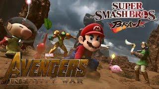 Super Smash Bros Brawl (Avengers Infinity War Style Trailer)