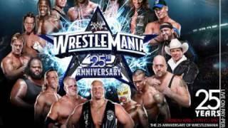 "WWE WrestleMania 25 Official Theme ""War Machine"" By AC"