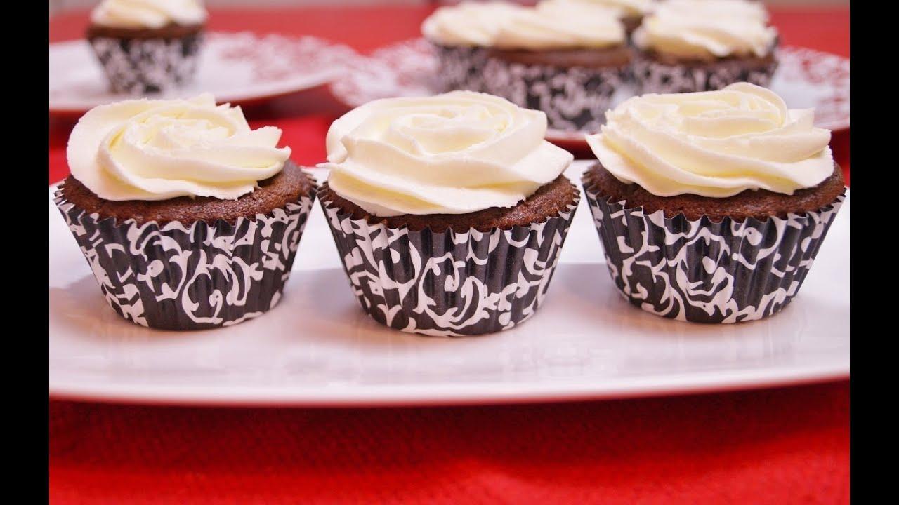 Cupcakes chocolate cupcakes recipe how to make from for How to make halloween cupcakes from scratch
