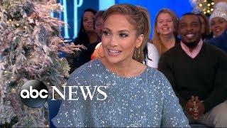 Jennifer Lopez dishes on her secret pre-show ritual