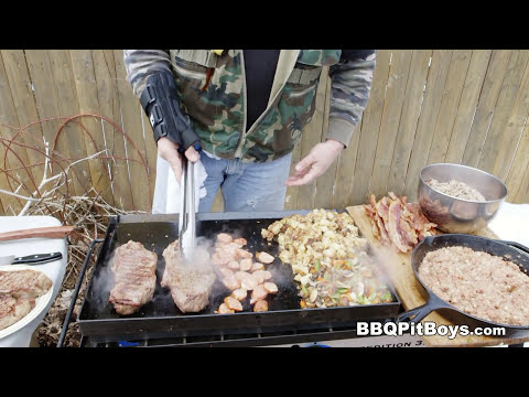 Steak and Grub Breakfast by the BBQ Pit Boys