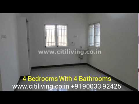 CitiLiving 4 Bedroom house-for-sale in Nehru Nagar, Coimbatore, INDIA