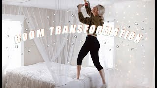 REDOING MY ROOM + ROOM TOUR 2019 | before + after