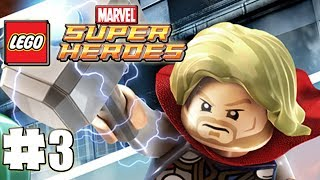 LEGO Marvel Superheroes 100% Guide Level 3