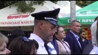 Участь представників ХНУВС в урочистих заходах з нагоди свят у Слобідському районі