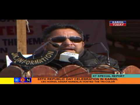 65th Republic Day Celebration Kargil (KT Report)