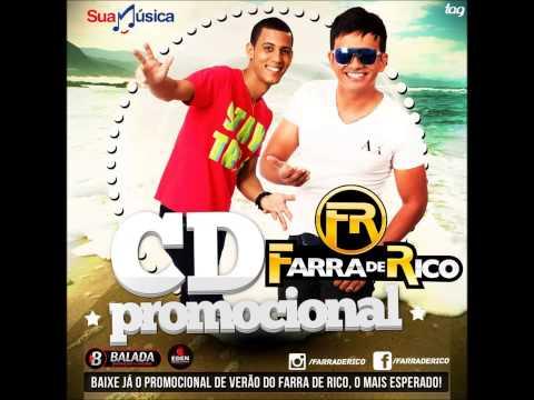 FARRA DE RICO - AMOR DE COPO (atualizada) CD PROMOCIONAL - MARÇO/2014
