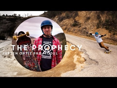 The Prophecy - Justen Ortiz's Pro Model by Landyachtz