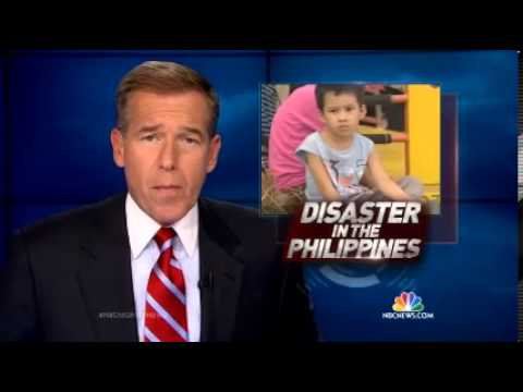 Typhoon Haiyan Disaster NBCNightlyNews   11112013