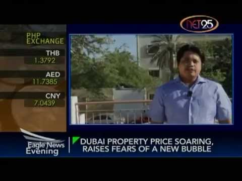 Dubai Property Sector Soars, Stirs Fears of New Bubble