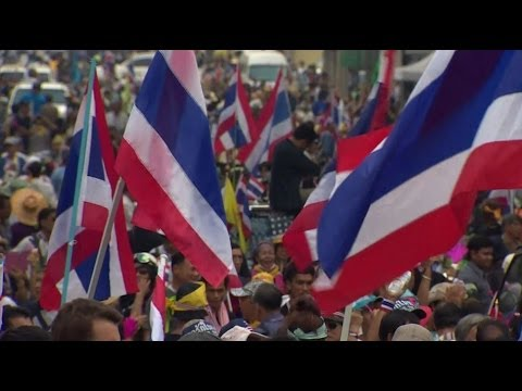 REPORTING FROM THAILAND'S CONTINUING PROTESTS - BBC NEWS
