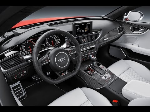 Audi RS7 2015 INTERIOR Audi RS7 Price $105,000+ Review 2015 Commercial CARJAM TV 2014