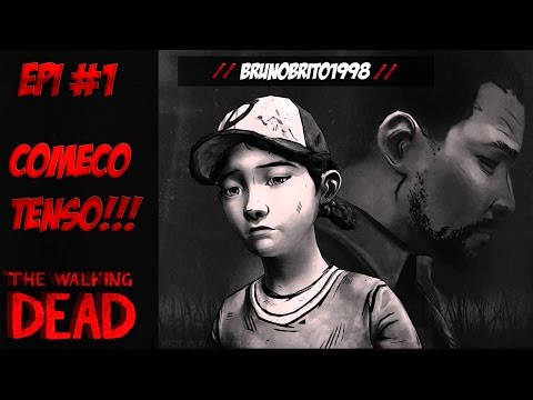 The Walking Dead O Game # 1 Começo Tenso