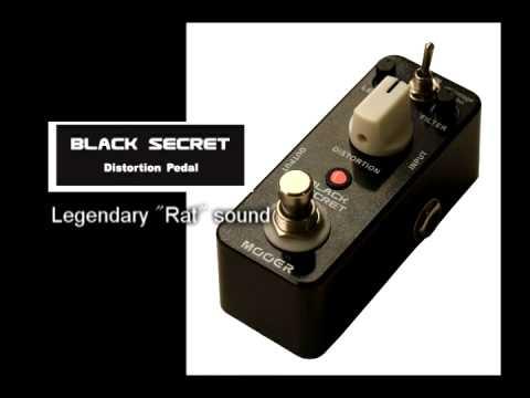 Mooer Black Secret Micro Series Distortion Pedal