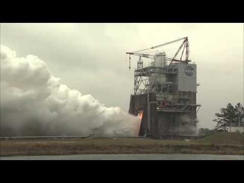 Pierwszy udany test silnika RS-25 dla nowej rakiety NASA